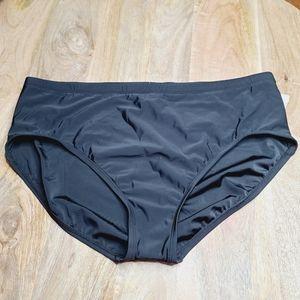 New! Aqua Green Plus size swim bikini bottom
